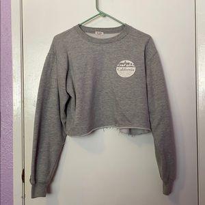 PacSun crop top sweater